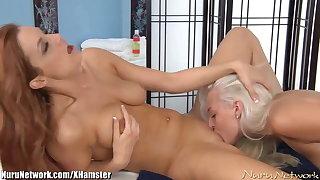 NuruNetwork Erotic Electric Lesbian Massage