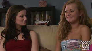 Lily Carter And Jessie Rogers - Girlfriendsfilms