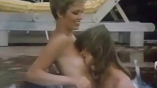 Relaxing Massage From Retro Outdoor Lesbians 1973