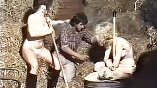 Riding School Spankers - British Spanking Movie Solange Gambol Lecarrio