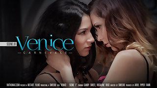 Venice Scene 1 - Carnevale - Candy Adorable & Rosaline Rose - VivThomas
