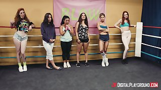 Erotic lesbian pussy seal the doom and fingering - Abella Danger and Lauren